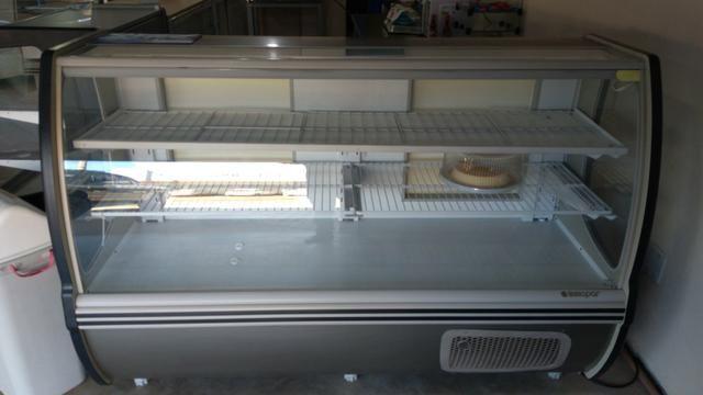 Freezer gelopar semi novo, modelo star 1,75mt,