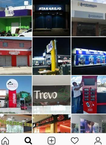 Fachada, banners, acm, cartão de visita,mdf, comunicação visual em geral - Foto 5