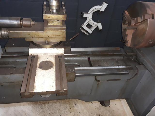 Torno mecânico 400mm x 1500 nardini chama no zap * - Foto 6