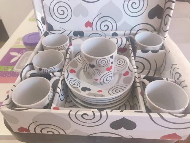 Conjuntos de xícaras