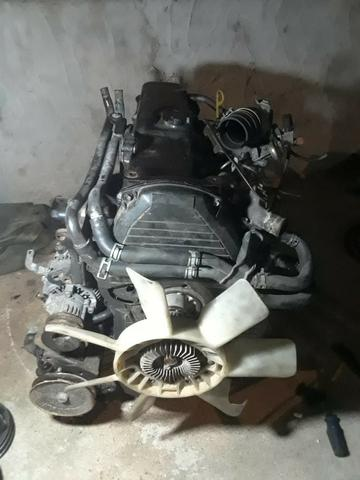 Motor Toyota 5L 3.0 Completo Revisado 35 MIl KM rodados original - Vitara Tracker Sportage