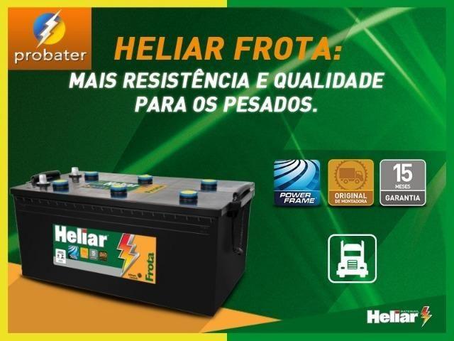 Bateria Heliar 180 amperes - Foto 2