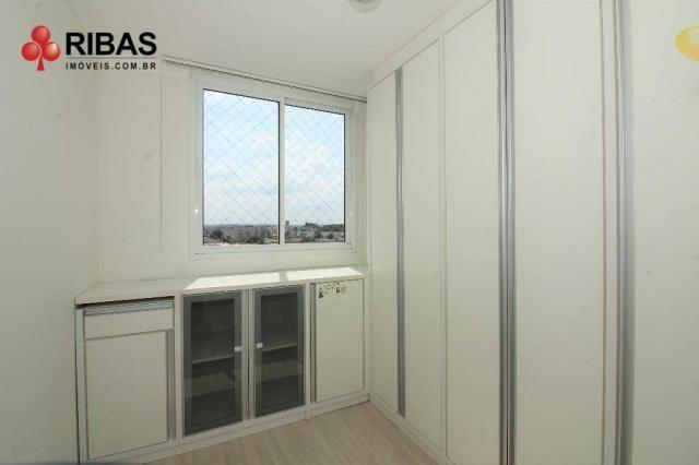 Apartamento com 3 dormitórios para alugar, 78 m² por r$ 2.000,00/mês - capão raso - curiti - Foto 12
