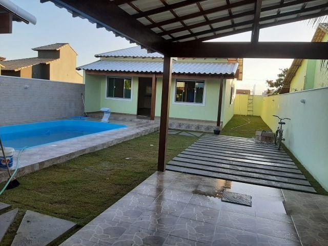 Linda Casa com 3 quartos e piscina. R$ 210.000,00 (Entrada) - Foto 9