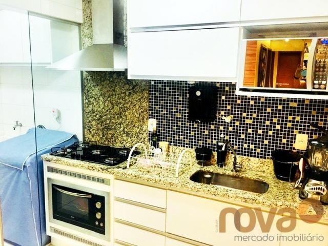 Apartamento à venda com 3 dormitórios em Parque amazônia, Goiânia cod:NOV235844