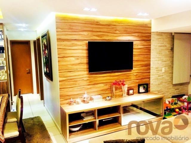 Apartamento à venda com 3 dormitórios em Parque amazônia, Goiânia cod:NOV235844 - Foto 9