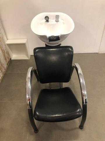 Lavatório de cabeleireiro