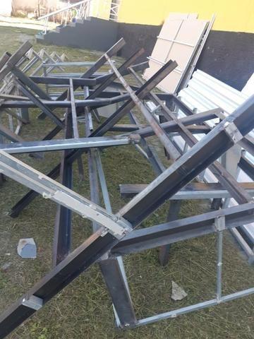 Ferro maciço Viga U.grosso placa zinco - Foto 2