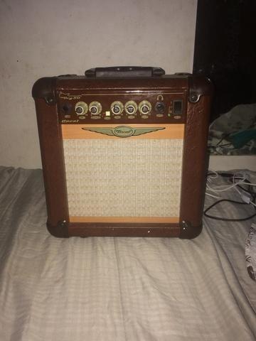 Guitarra golden + cubo amplificador Oneal +Cabo - Foto 2