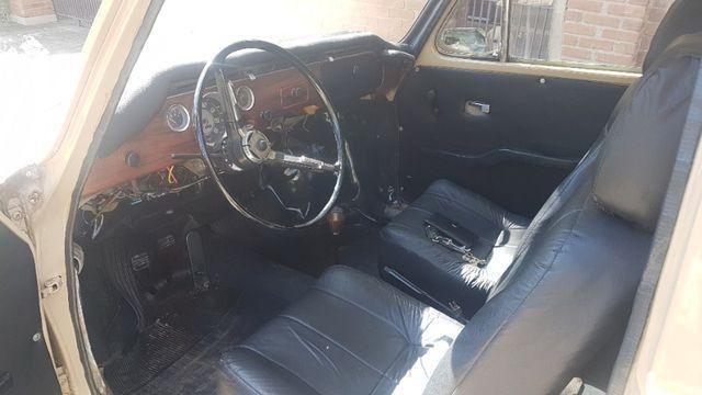 Volkswagen Variant Bege 1970 - Foto 8