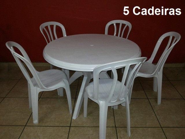 Mesas Redondas 1,10 cm vendo - Foto 3