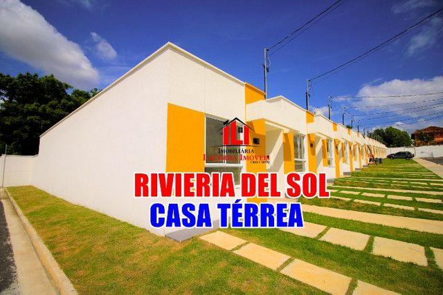 Riviera Del Sol, Casa Térrea, use FGTS, Pronto Morar, Bairro Flores
