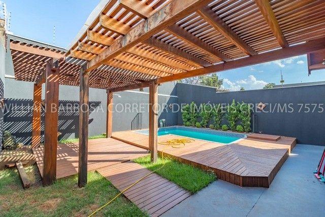 Casa com área de lazer completa e alto padrão de acabamento no Jd das Nações! - Foto 2