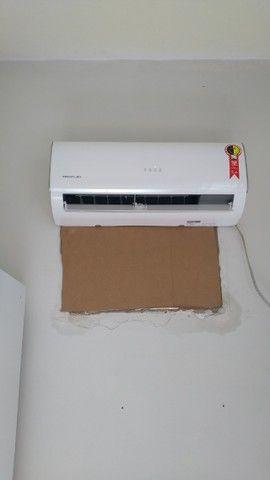 R$350 instalação de split c/material promoção até 12.000btus - Foto 2