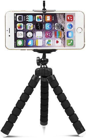 Tripé Suporte Flexível  Para Celular Camera MiniPod Selfie - Foto 2