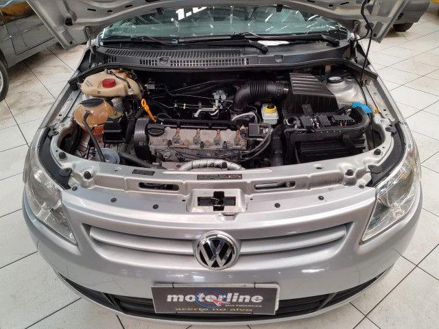 Volkswagen Voyage 1.6 Trend 4p Flex 2009 Prata Completo Muito Novo Doc OK - Foto 6