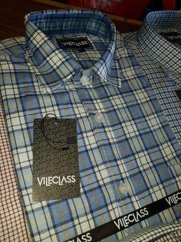 Camisa manga curta importada VILECLASS