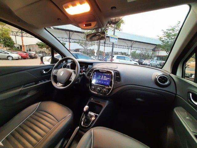 Renault Captur Life 1.6 16v CVT - Couro + Mídia - Apenas 10.000 km! - Foto 7