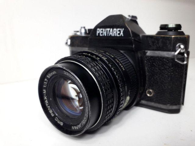 Câmera fotográfica antiga Pantarex  *aceito Cartão  - Foto 5