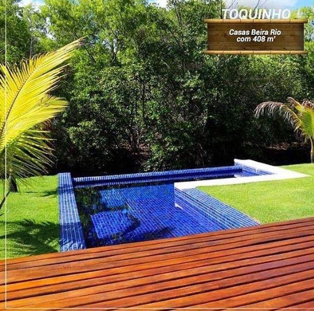 AC- B A I X O U ! Casa na praia de toquinho com 7suites  - Foto 5