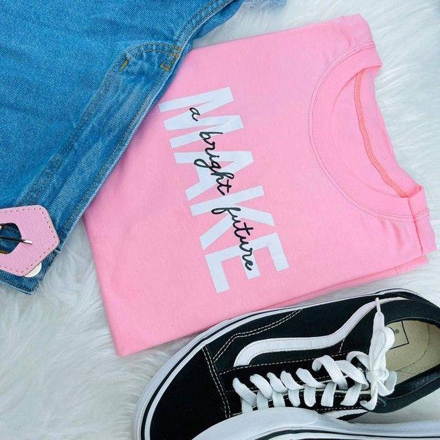 T-shirts femininas exclusivas (blusas) - Foto 4