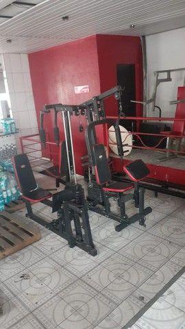 Estação de musculação / multiestação de musculação venha conferir! - Foto 4