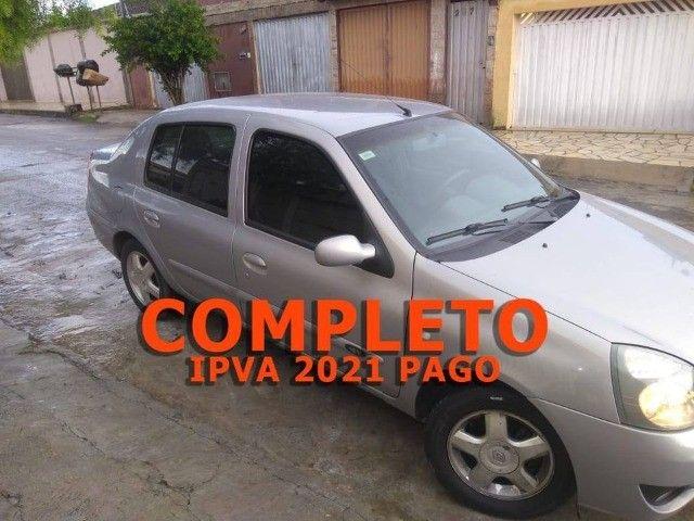 Renault Clio Sedan Flex Completo - Foto 2