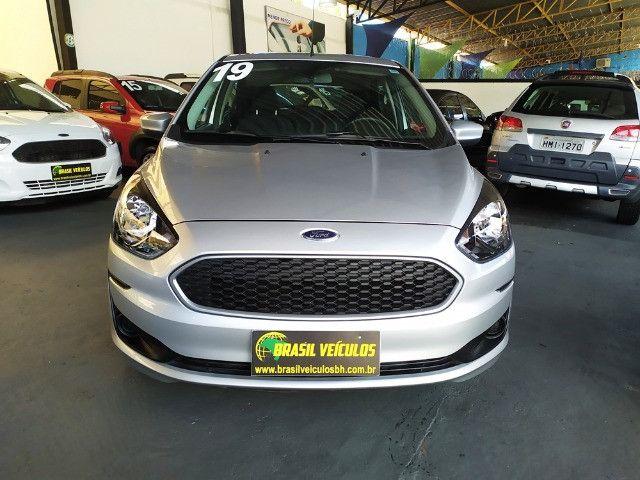 Ford KA 1.0 Flex 2020 ( Aceitamos troca e financiamos ) - Foto 3