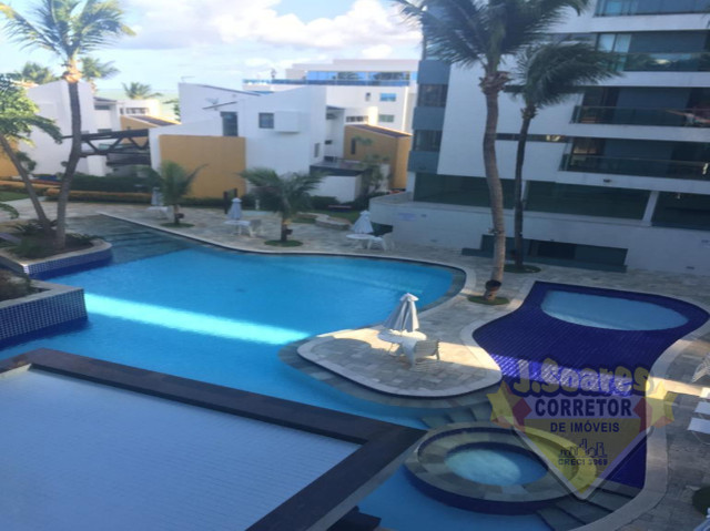 Ponta de Campina, Mobiliado, 4 suítes, 206m², R$ 5000 C/Cond, Aluguel,Apartamento,Cabedelo - Foto 14