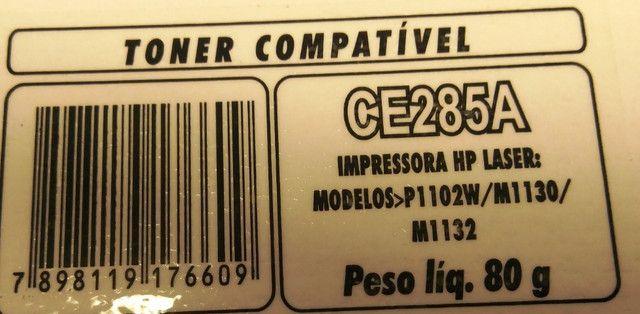 Toner  Laser CE 285A HP Compatível  - Foto 2