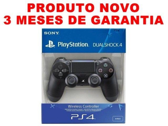 Controle original PS4 usado, 3 meses de garantia, Loja física 16 anos de mercado - Foto 2