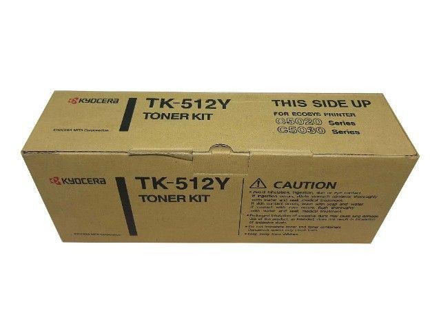 Toner Kyocera TK512 Yellow Original Novo