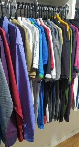 Estoque de roupas masculinas - Foto 2