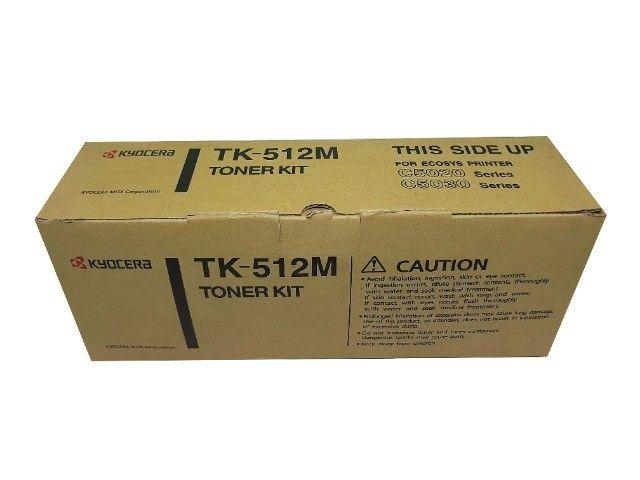 Toner Kyocera TK512 Magenta Original Novo