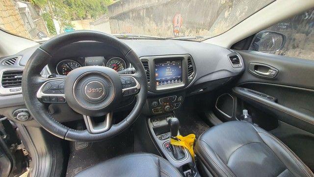 Jeep Compass Longetude 2.0 16v 2017 30mil km Completo  - Foto 8