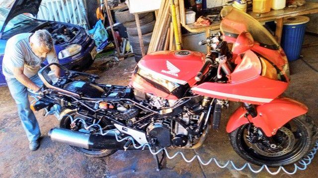 Honda CBR 1000F 1993 Vermelha, Raridade, Toda original - Foto 11