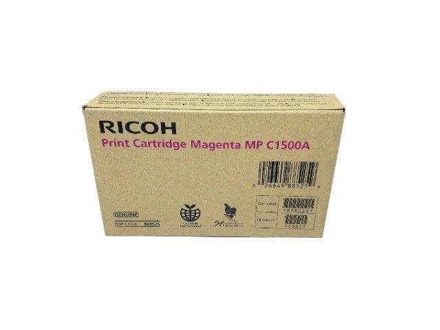 Cartucho de Toner Ricoh C1500A / 888525 Magenta Original Novo