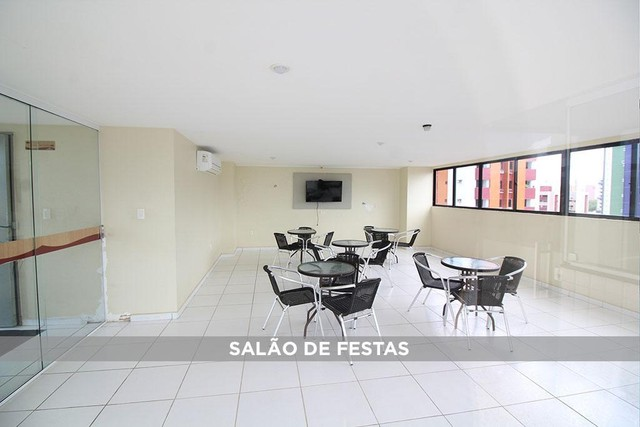 Apartamento com 2 dormitórios à venda, 65 m² por R$ 320.000,00 - Cabo Branco - João Pessoa - Foto 14