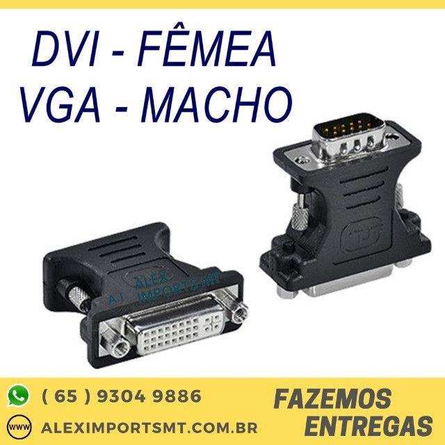 Adaptador DVI Fêmea - VGA Macho Vinik - Adviif-V/23578