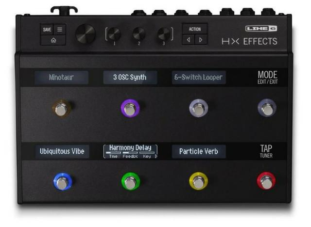 Line 6 HX Effects Guitar Multi-Effects Floor Processor Novo Loja!