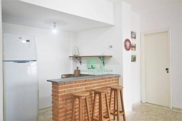 Cobertura na praia, confortável, 3 dormitórios sendo 1 suíte, 2 vagas, pitangueiras, guaru - Foto 15