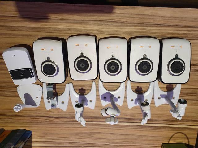 6 câmeras de segurança (r$500)