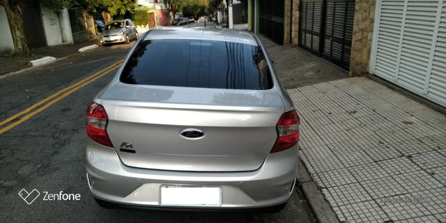 Ford Ká 1.5 SE Plus Sedan - Automático - Prata 2019-(Único Dono) - Foto 16