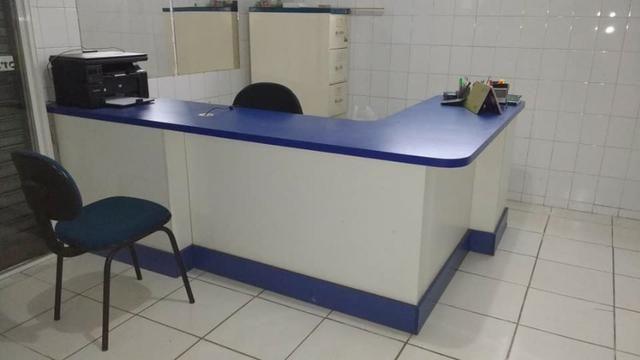 Mesa escritorio em L - Foto 4
