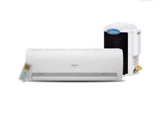 Ar condicionado e vários desapegos