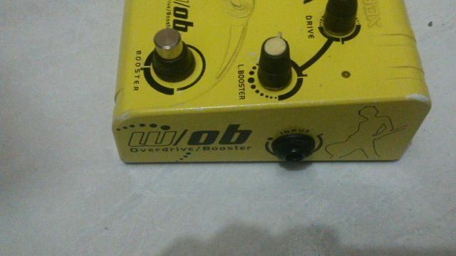 Pedal wavebox overdrive booster aceito baixo guitarra pedais violão