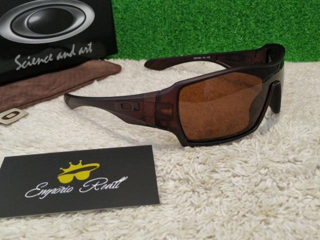 44ed4f0746782 Óculos Oakley OffShoot todo marrom - Bijouterias