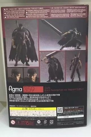 Berserk - Guts Black Swordsman Ver. Repaint Ed - Figma 359 - Foto 4