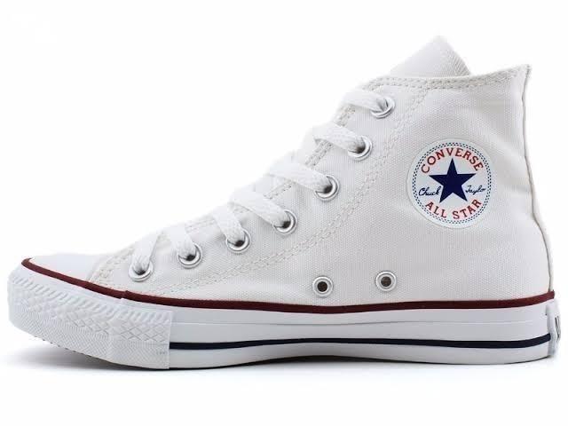 aa900e392 All Star Branco - cano alto n 35 36 - Roupas e calçados - Rodolfo ...