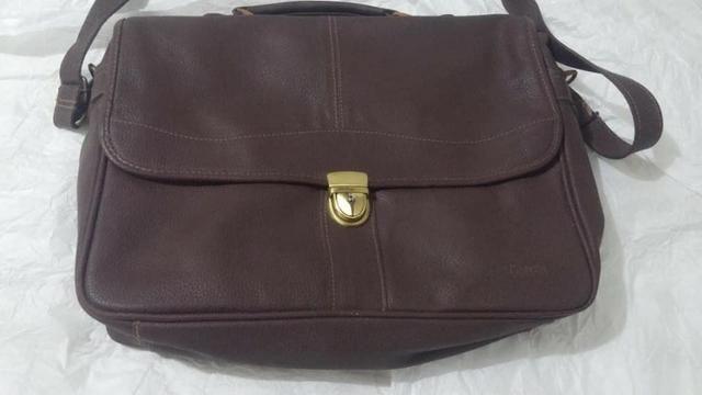 2906ae840 Pasta/Bolsa de Couro Legítimo Le Postiche - Bolsas, malas e mochilas ...